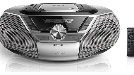 Radiopřijímač s CD Philips AZ783 + DOPRAVA ZDARMA