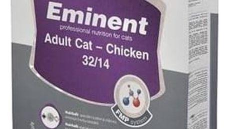 Granule Eminent Adult Cat Chicken 10 kg Granule Eminent Cat chicken 2 kg (zdarma) + Doprava zdarma