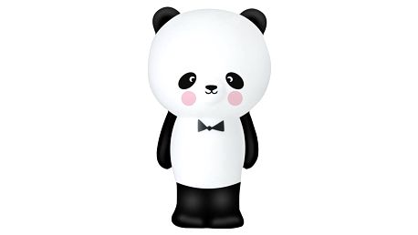 EEF lillemor Noční lampička Panda, černá barva, bílá barva