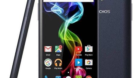 Mobilní telefon Archos 55B Platinum (503260) modrý + Doprava zdarma