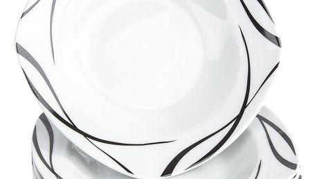 Domestic 6dílná sada hlubokých talířů Oslo, 21,5 cm