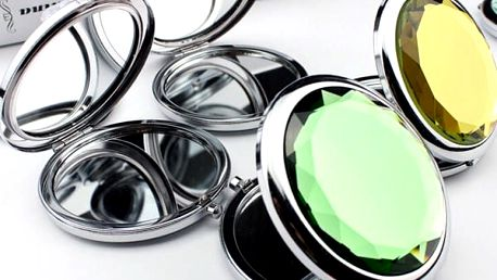 Designové kapesní zrcátko Crystal
