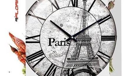 Nástěnné hodiny Florina Paris