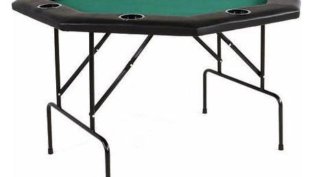 Garthen 510 Poker stůl osmihran skládací 122 x 122 x 76 cm