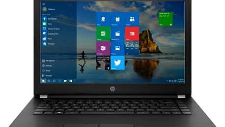 Notebook HP 14-bw001nc 14.0 SVA AG HD LED, AMD e2-9000E dual,4GB DDR4L,256GB SSD,UMA, Win10 - silver 1UZ18EA