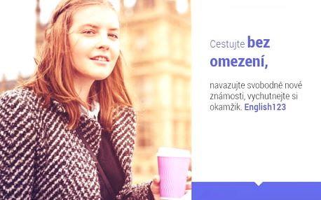 Online kurz angličtiny na 2 roky + kurz Business English na 6 měsíců - vyzkoušejte zdarma!