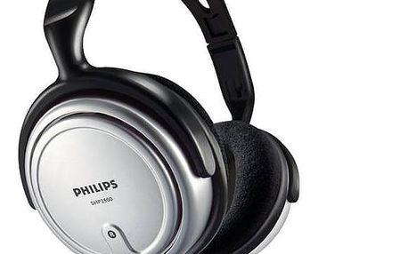Sluchátka Philips SHP2500 (SHP250010) černá/šedá + Doprava zdarma