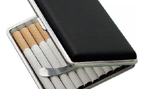 Kovová krabička na cigarety