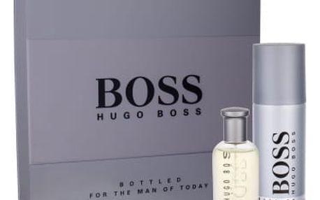 HUGO BOSS Boss Bottled dárková kazeta pro muže toaletní voda 50 ml + deodorant 150 ml