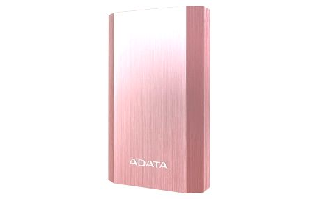 Power Bank ADATA A10050 10050mAh (AA10050-5V-CRG) růžová