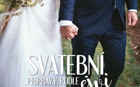 Svatební přípravy podle Ejvi - Eva Mchitarjan, modrá barva, papír