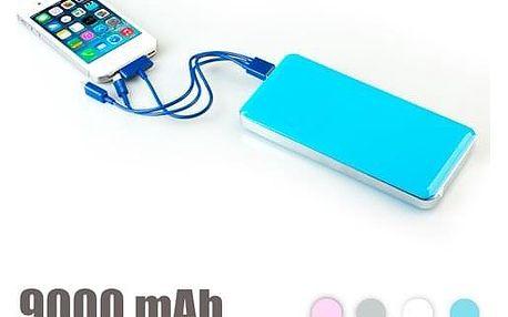 Velkokapacitní Powerbank 9000 mAh
