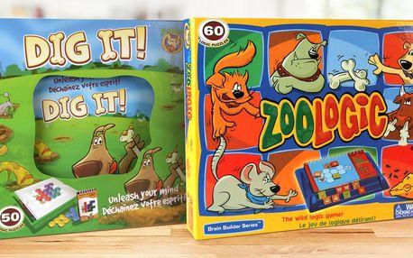 Zábavné logické hry pro děti starší 5 let