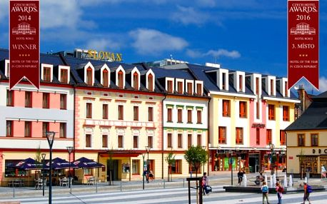 Jeseníky v hotelu Slovan **** s polopenzí