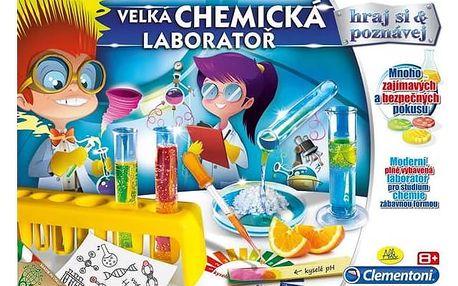 Experimentální sada Albi Clementoni Velká chemická laboratoř + Doprava zdarma