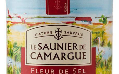 LE SAUNIER DE CAMARGUE Mořská sůl Fleur de Sel 125 g