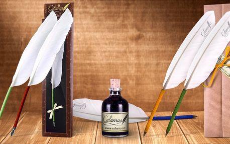 Následujte tradici - originální husí brka Calamus® v dárkovém balení