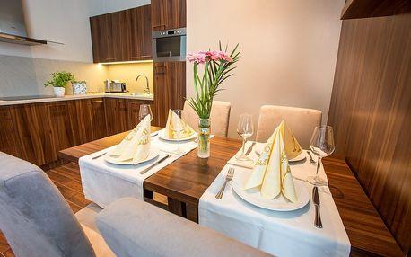 Luxusní apartmán ve vile v Tatranské Lomnici s hodinou wellness