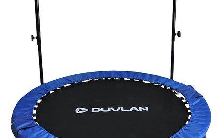 Trampolína s držadlem DUVLAN 122 cm