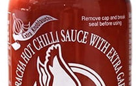 Chilli omáčka Sriracha hot s česnekem 455 ml