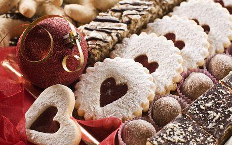 1kg ručně vyráběné vánoční cukroví - 10 druhů