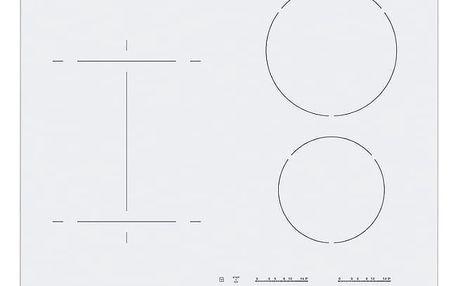 Indukční varná deska Electrolux Inspiration EHI6540FW1 bílá + DOPRAVA ZDARMA