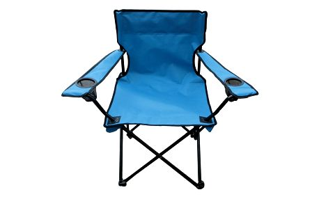 Rybářská židle Oxford modrá