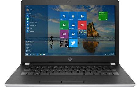 Notebook HP 14-bw001nc 14.0 SVA AG HD LED, AMD e2-9000E dual,4GB DDR4L,256GB SSD,UMA, Win10 - silver 1UZ18EA