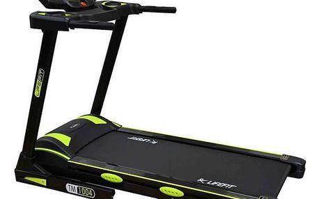 Běžecký pás LIFEFIT TM-1004 + Závěsný posilovací systém Rulyt nastavitelné - černá/červená v hodnotě 390 KčPosilovač břišních svalů Lifefit AB EFFECT - zelená (zdarma) + Doprava zdarma