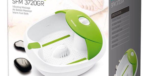 Masážní přístroj nohou SFM 3721 VT SENCOR, zelená2