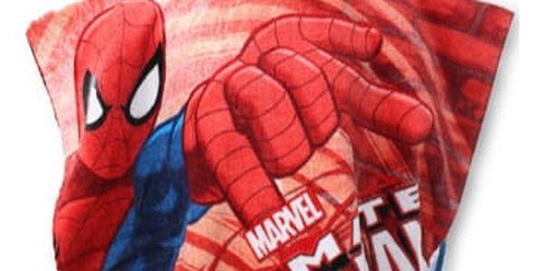 Setino Dětské pončo DOKONALÝ SPIDER-MAN 55x110 cm