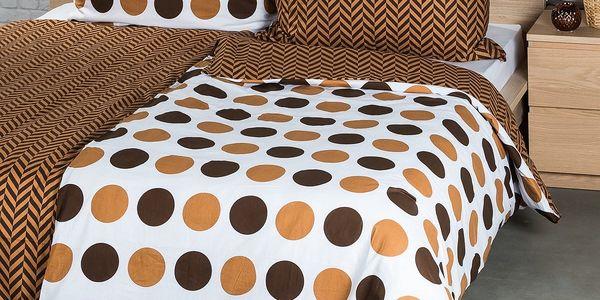 4Home Bavlněné povlečení Kiko, 140 x 200 cm, 70 x 90 cm