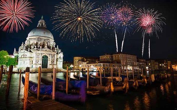 3denní silvestrovský zájezd pro 1 do Benátek s prohlídkou města i lahví sektu
