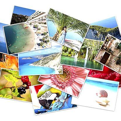 Tisk velkoformátových fotografií A3 nebo A4. Digitálně tištěno na lesklý papír, dlouholetá životnost