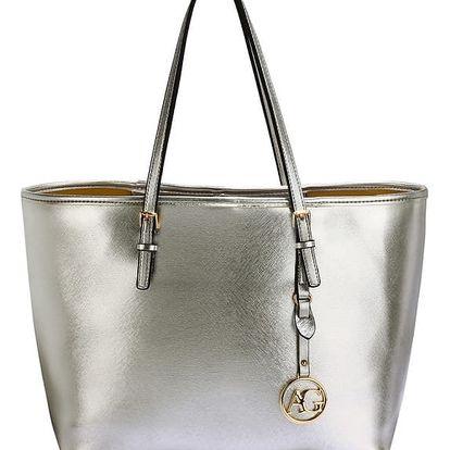 Dámská kabelka Tracy 297 stříbrná