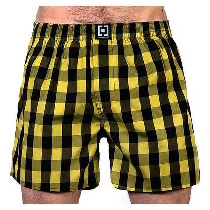 Pánské Trenky Horsefeathers Sin Boxer Shorts Citronelle XL