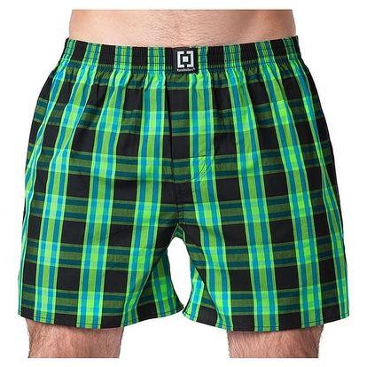 Pánské Trenky Horsefeathers Sin Boxer Shorts Black S