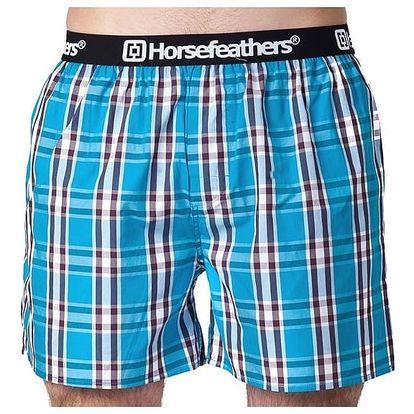 Pánské Trenky Horsefeathers Apollo Boxer Shorts Blue XL