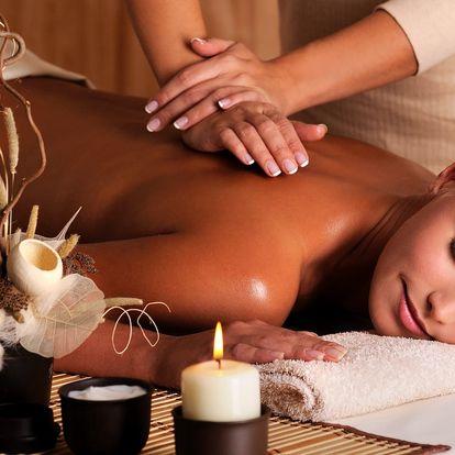 Úžasný relax pro 1 nebo 2 osoby včetně masáže