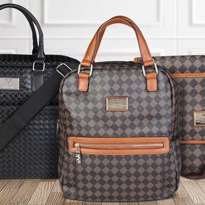 Versace: elegantní tašky do města i na cesty