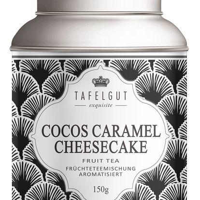 TAFELGUT Ovocný čaj Cocos Caramel Cheesecake - 150gr, černá barva, kov