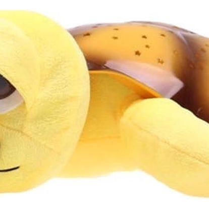 Svítící a hrající želvička pro lepší dětské usínání