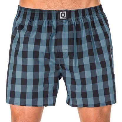 Pánské Trenky Horsefeathers Sin Boxer Shorts Smoke Blue XL