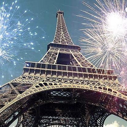 4denní silvestrovský zájezd pro 1 do Paříže s ubytováním v hotelu se snídaní