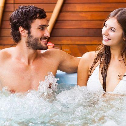 Relax pro dva: privátní wellness a zábal