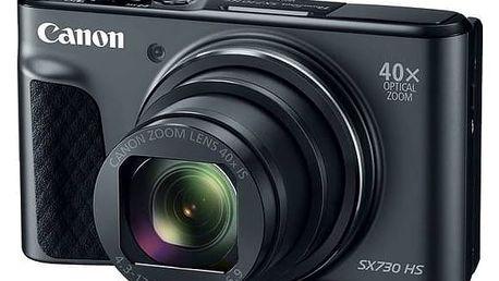 Digitální fotoaparát Canon SX730HS (1791C002) černý + Cashback 800 Kč + Doprava zdarma
