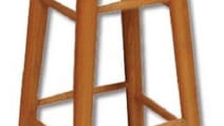 Barová stolička KT240 masiv ořech