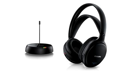 Bezdrátová sluchátka Philips SHC5200/10 Černý