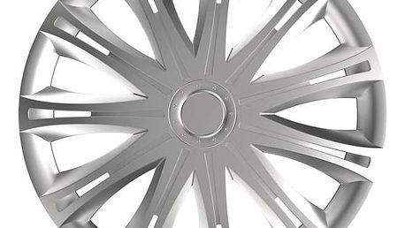 "Kryt kol Versaco Spark silver 15"" sada 4ks (20003) + Doprava zdarma"