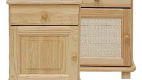Noční stolek S6 borovice